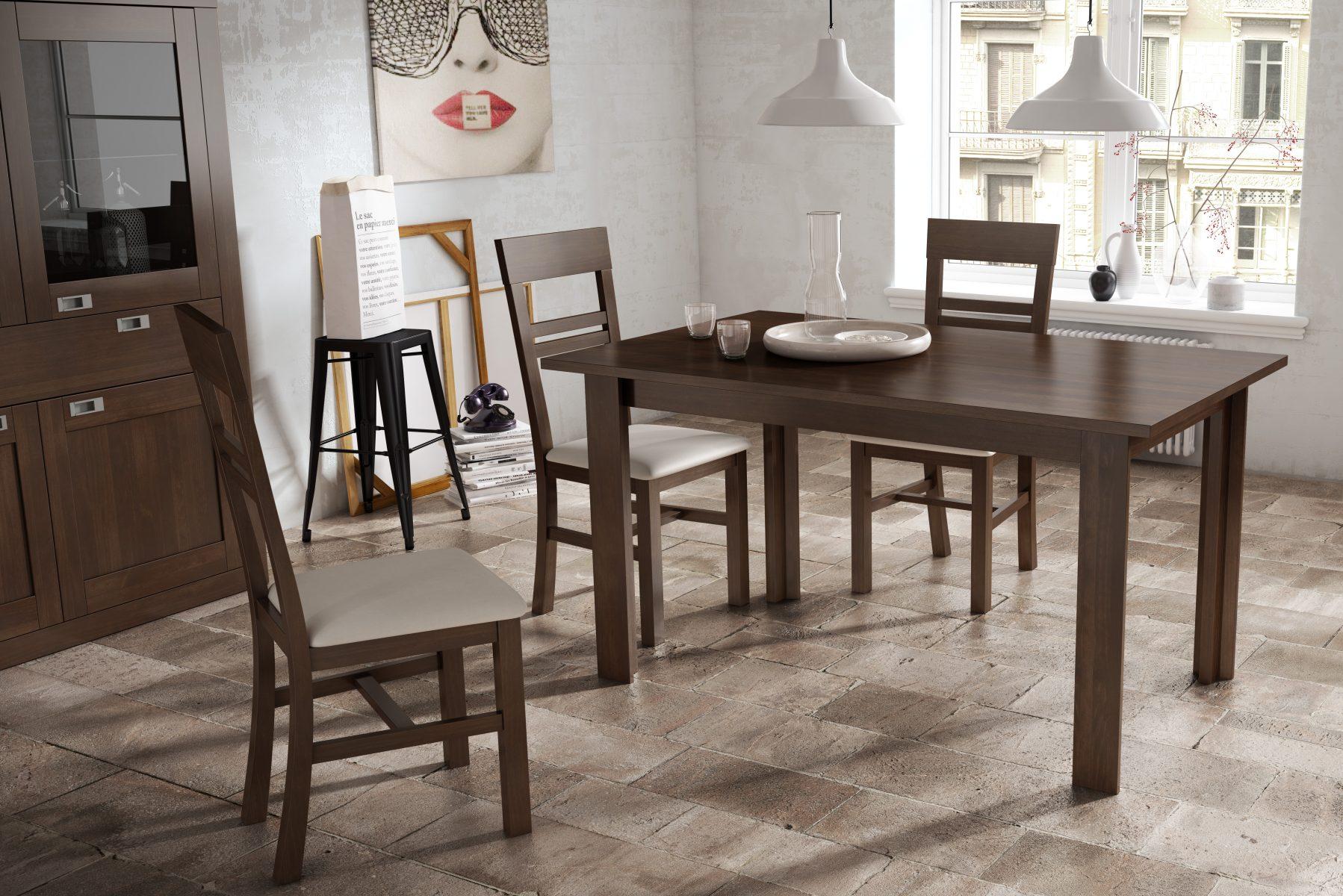 Mesas de comedor cl sicas en valladolid muebles para el sal n - Mesas auxiliares clasicas ...