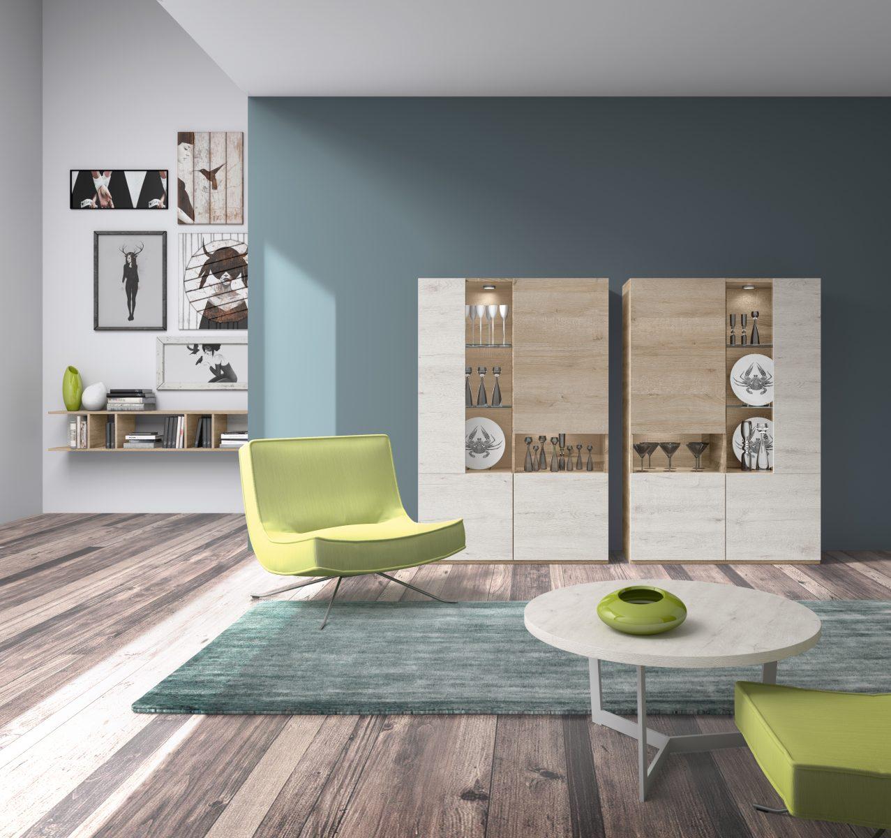 vitrinas modernas tienda de muebles en valladolid