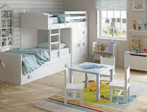 Dormitorio juvenil e infantil: ahorra espacio al máximo