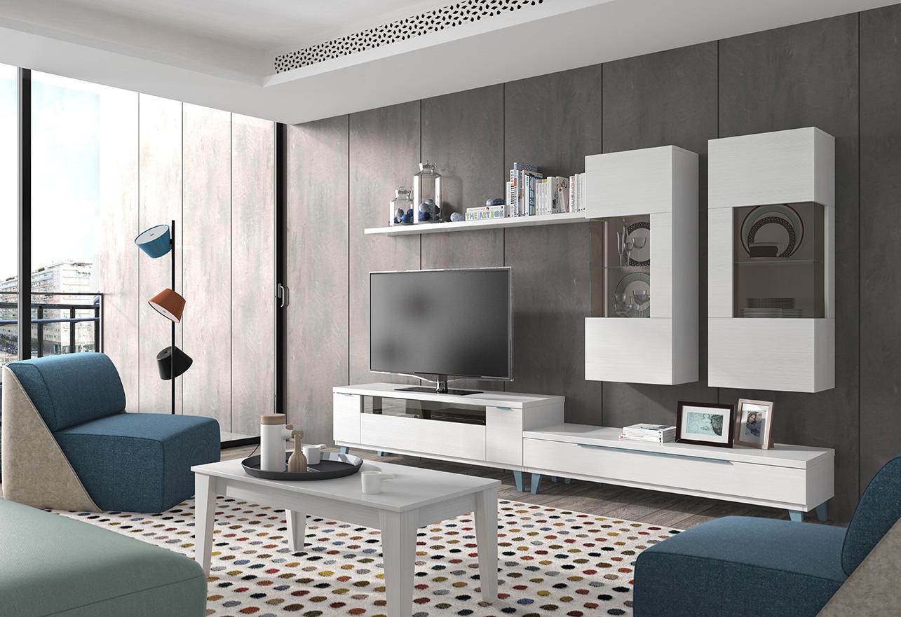 Tendencias 2018 para tu sal n tienda de muebles en - Muebles salon modernos ...