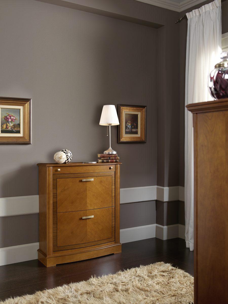 Zapateros de madera para dormitorios y habitaciones