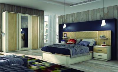Dormitorio elegante en Valladolid