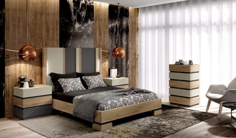 Dormitorio de diseño en Valladolid