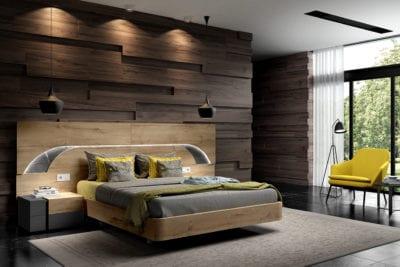 Interiorismo, dormitorios modernos en Valladolid