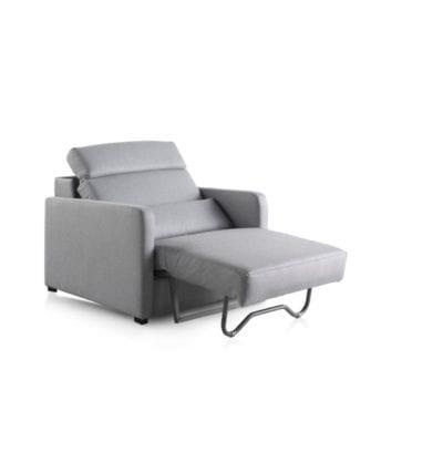 Sofá cama individual extensible Valladolid